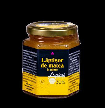 Lăptișor de matcă în miere 30%