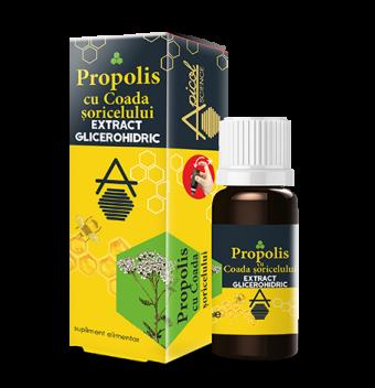 Propolis cu Coada Soricelului extract glicerohidric