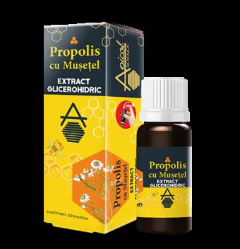 Porpolis cu musetel extract glicerohidric