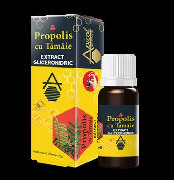 Propolis cu tamaie extract glicerohidric