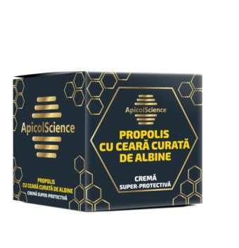 Cremă super-protectivă de propolis și ceară curată